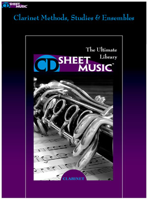 CD Sheet Music Online - Woodwind Collections